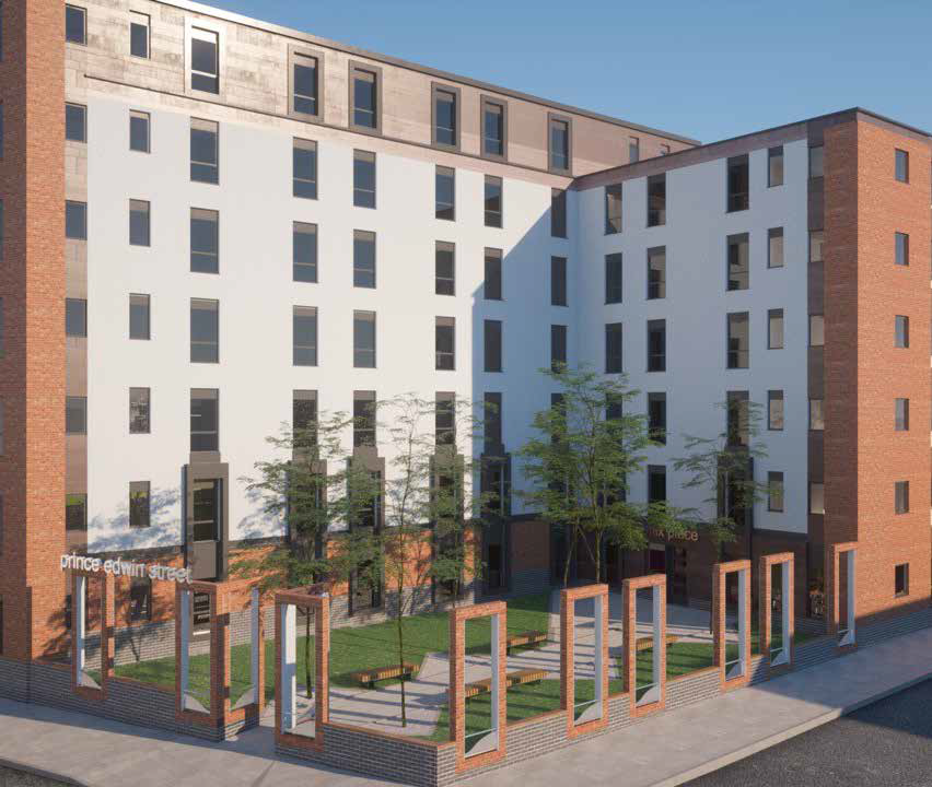 New Build Apartments Liverpool City Centre